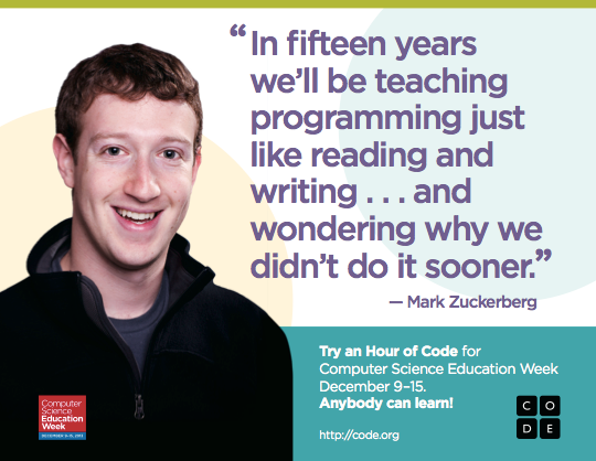 STEM WOrkshop Hour of Code
